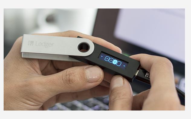 Ledger Nano S pin code
